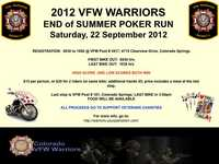 D5 Vfw Warriors End Of Summer Poker Run