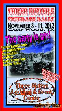 Three Sisters Veterans Rally