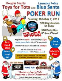Toys For Tots And Blue Santa Poker Run