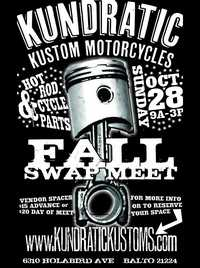 Kundratic Motorcycles Swap Meet