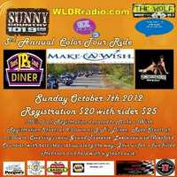 Color Tour Ride For Make A Wish - 3rd Annual