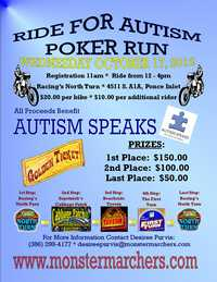 Poker Run For Autism