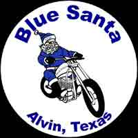 Alvin Blue Santa Motorcycle Ride - 4th Annual