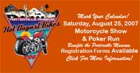 Hot August Bike Show and Motorcycle Poker Run
