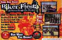 BIKER FIESTA USA to MEXICO RALLY