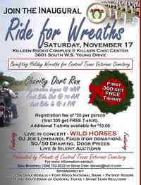 Motorcycle Ride For Wreaths