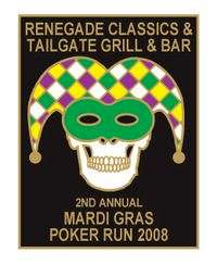 Mardi Gras Poker Run - 2nd Annual