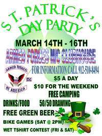 St. Patrickd Day Party