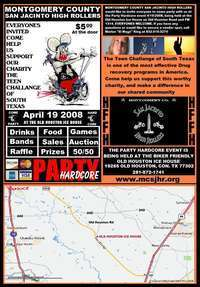 Conroe Swap Meet >> Motorcycle charity - Party Hardcore 2008 - Texas