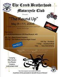 Creed Brotherhood Motorcycle Club Round Up