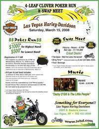 4-leaf Clover Poker Run And Swap Meet