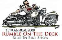 Rads Rumble On The Deck Ride In Motorcycle Show - 13th Annual
