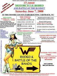 Motorcycle Rodeo And Battle Of The Bands