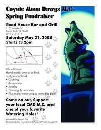 Coyotemoondawgs M.c. Spring Fundraiser