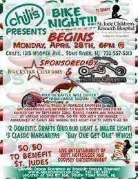 Chilis Bike Nights For St Judes