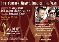 Academy Of Country Music Charity Motorcycle Ride - 5th Annual