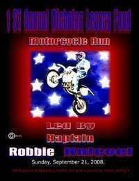 Motorcycle Run Led By Kaptain Robbie Knievel