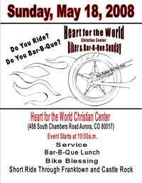 Heart For The World Biker and Bar-B-Que Sunday