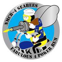 NMCB 4 Seabees Fabulous 4 Poker Run