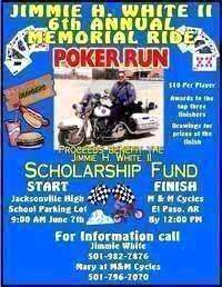 Jimmie H White Ii Memorial Bike Run