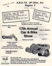 Abate Of Ohio Clinton County Car and Bike Show