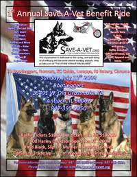 Save A Vet Benefit Ride