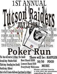 Tucson Raider Poker Run
