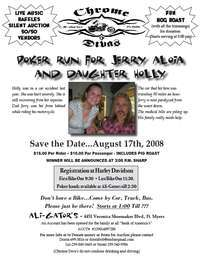 Poker Run For Jerry and Holly Aloia
