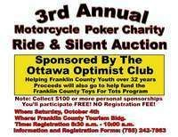 Ottawa Optimist Motorcycle Charity Poker Ride and Silent Auction
