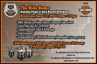 The Ride Home 105th Anniversary Celebration At Zion Harley Davidson