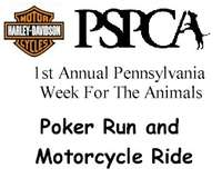 Pennsylvania Week For The Animals Motorcycle Poker Run