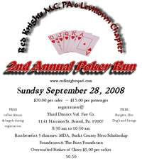 Bucks County Poker Run - 2nd Annual