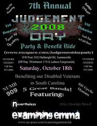 Judgement Day Party and Benefit Ride - 7th Annual