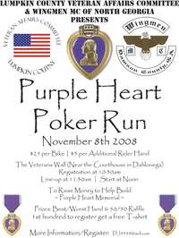 Purple Heart Poker Run