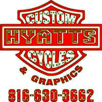 Hyatts Custom Cycles and Grphics Customer Appreciaion Day