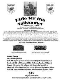 Ride For Tailgunner And Liver Cancer
