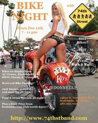 Bike Night at K Odonnells