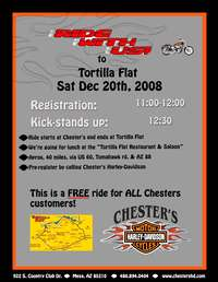 Ride With Us To Tortilla Flat