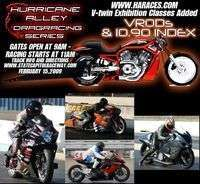 Hurricane Alley Motorcycle Drag Racing