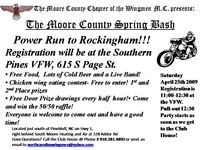 Moore County Spring Bash