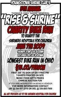 Rise And Shrine Charity Bike Run - 5th Annual
