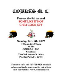 Some Like It Hot Chili Cook Off