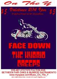 Biker Night With Face Down And The Hybrid Creeps Patchs Free Partial Door To Mma