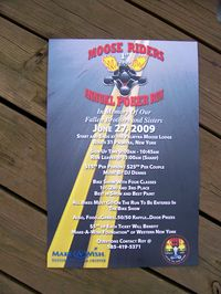 Moose Riders Poker Run