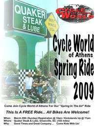 Cycle World Of Athens Spring Ride