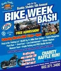 Buddy Stubbs Bike Bash - 5th Annual