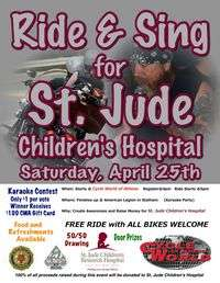 Ride Sing For St Jude Childrens Hospital