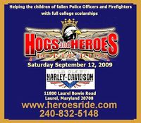 Hogs And Heroes Poker Run