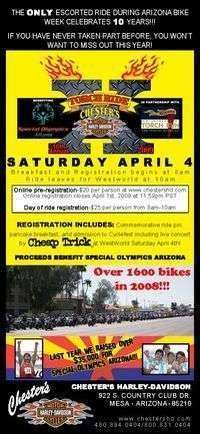 Chesters Torch Ride - 10th Annual