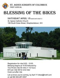 St Agnes Blessing Of The Bikes